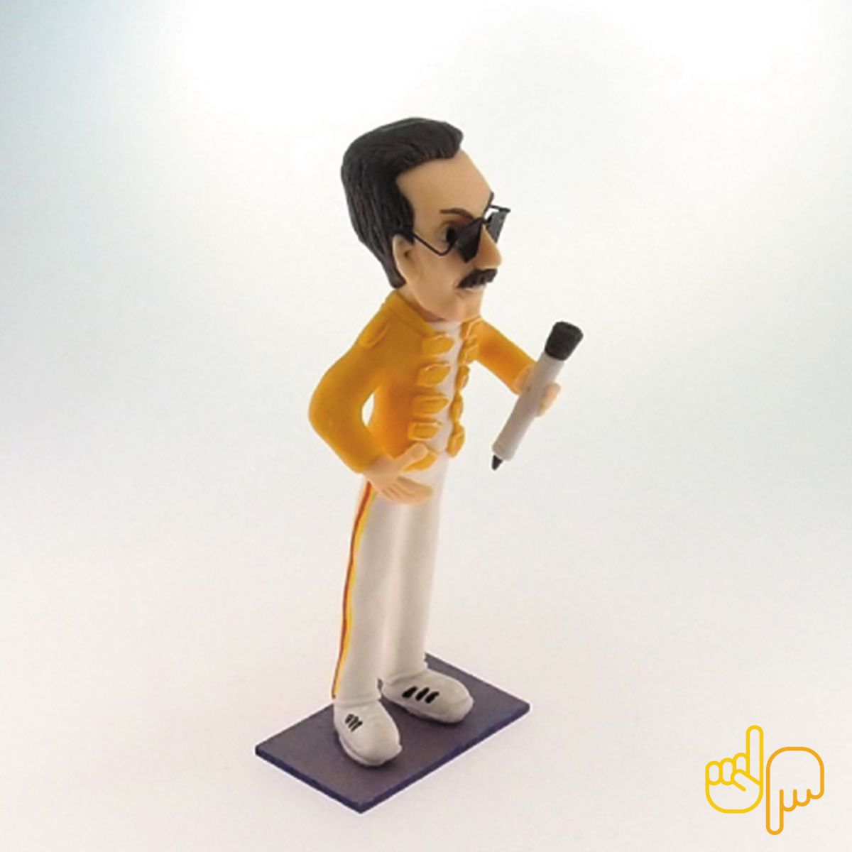 Caricatura Freddie Mercury