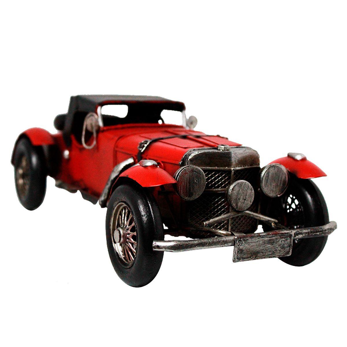 Carro Colecionável de Metal Mercedes Benz SSK 1928