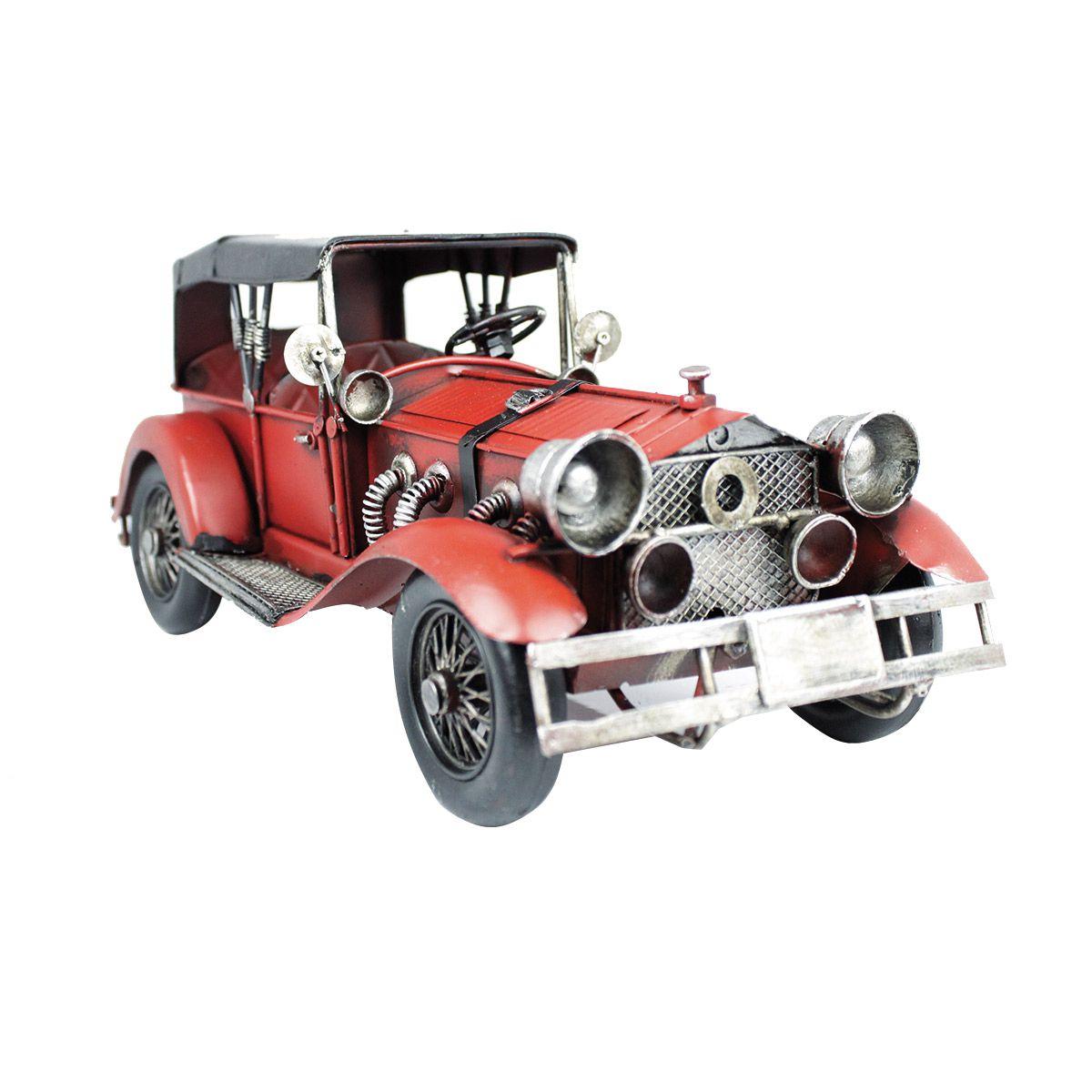 Carro de Metal Pura Nostalgia Calhambeque Ford 1929 1:18