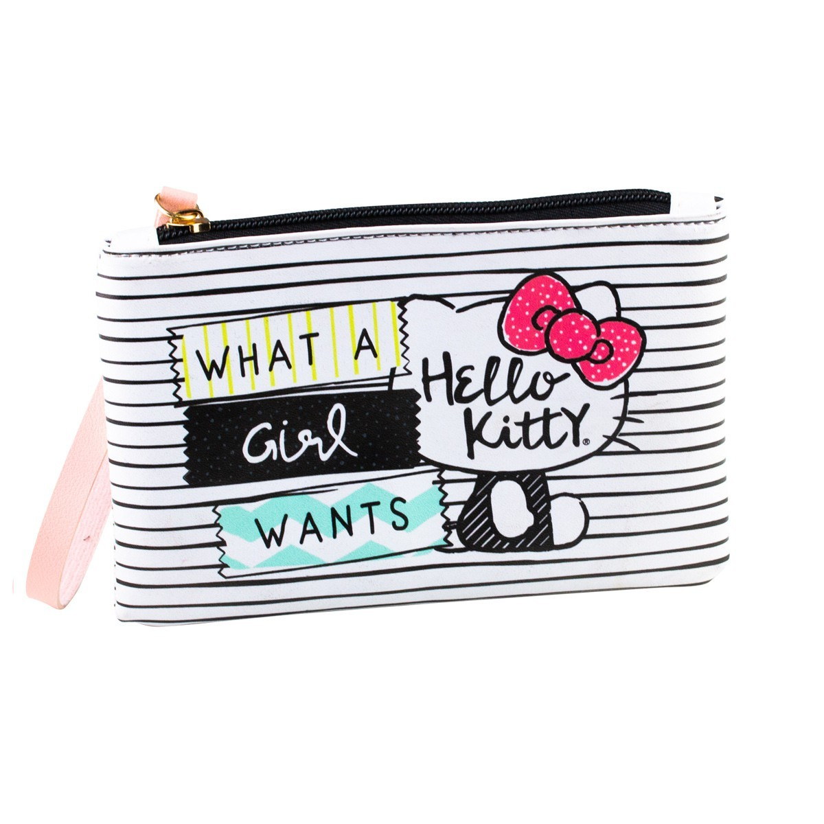 Carteira What A Girl Wants Hello Kitty Urban