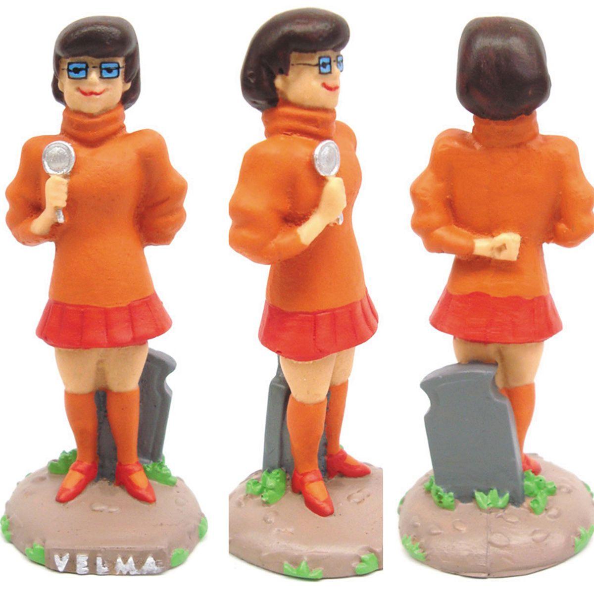 Coleção Turma do Scooby-Doo kit c/ 5 Personagens