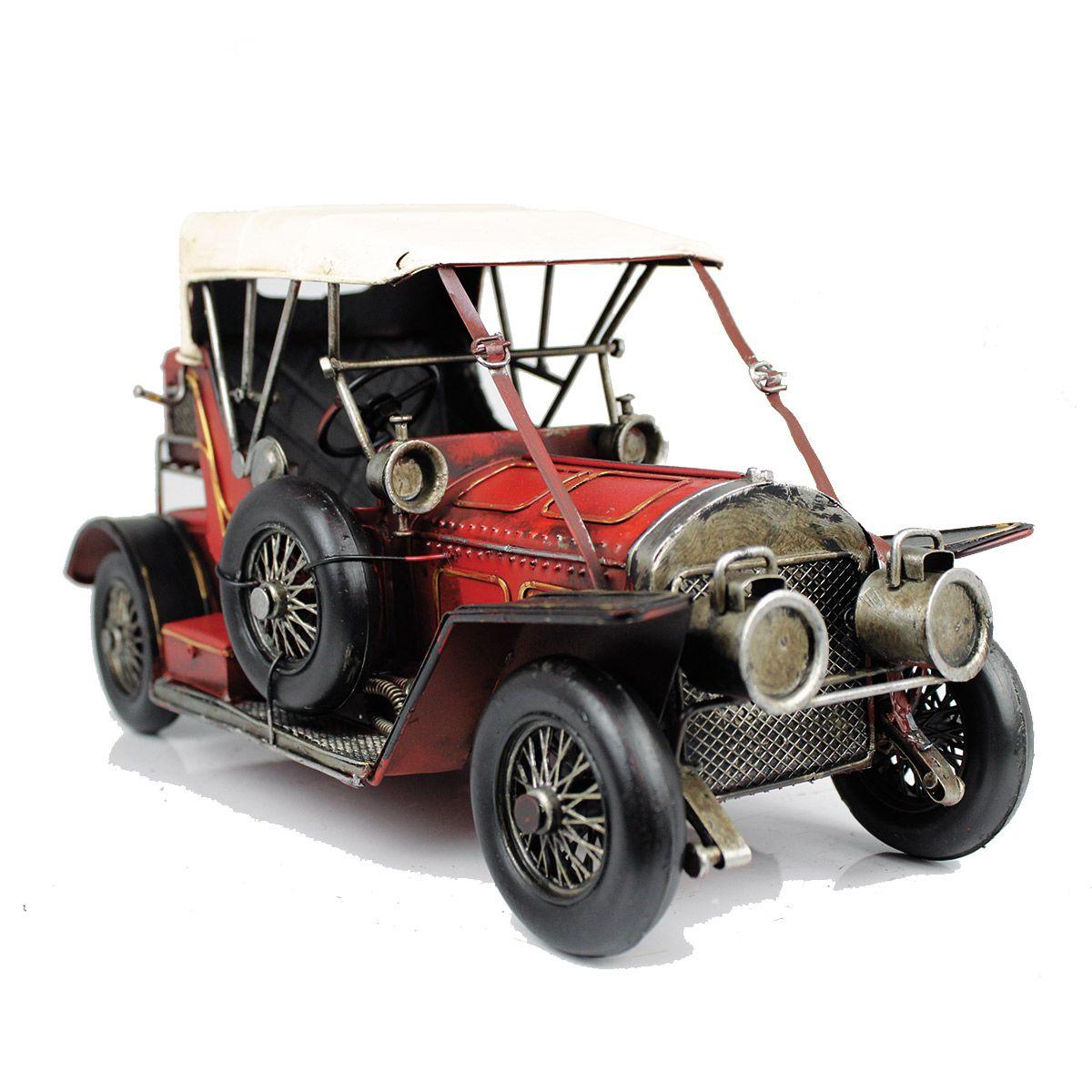 Colecionável Carro de Metal Pura Nostalgia Ford T1919 1:18