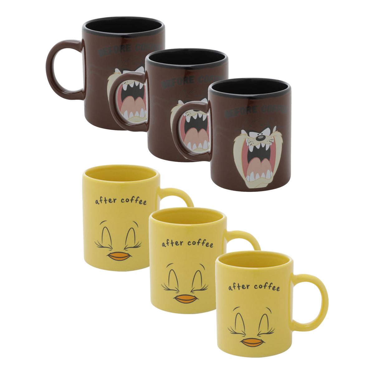 Conjunto Café Expresso Looney Tunes - Taz e Piu Piu