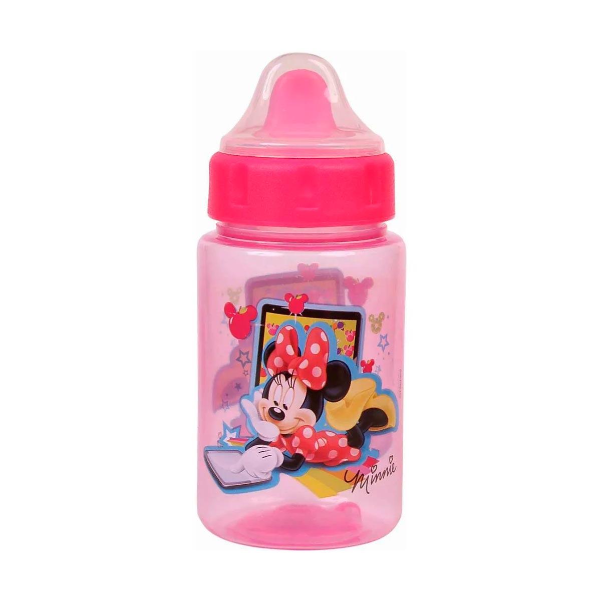 Copo C/ Redutor De Pingos + Tampa Minnie BabyGo Premium