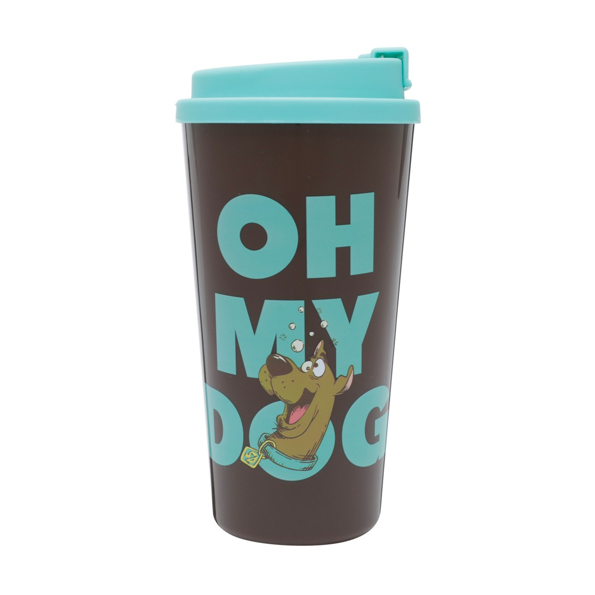 Copo De Plástico Oh My Dog Scooby Doo Urban 500ml