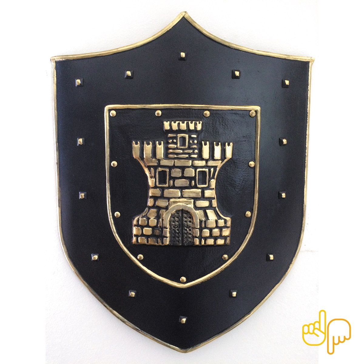 Escudo de Parede Medieval Mod. Castle Entrance
