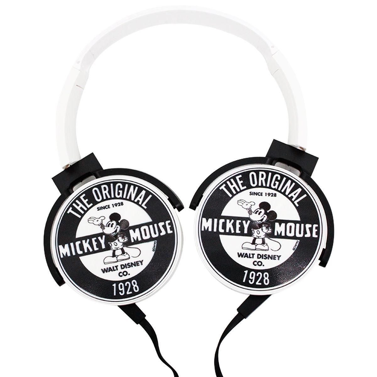 Fone de Ouvido Mickey Mouse The Original Com Microfone