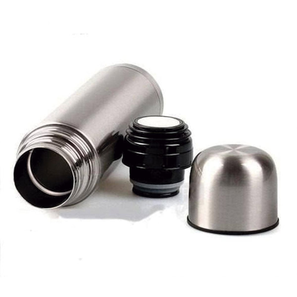 Garrafa Térmica Aço Inox 750ml Quente e Frio C/Bico Dosador
