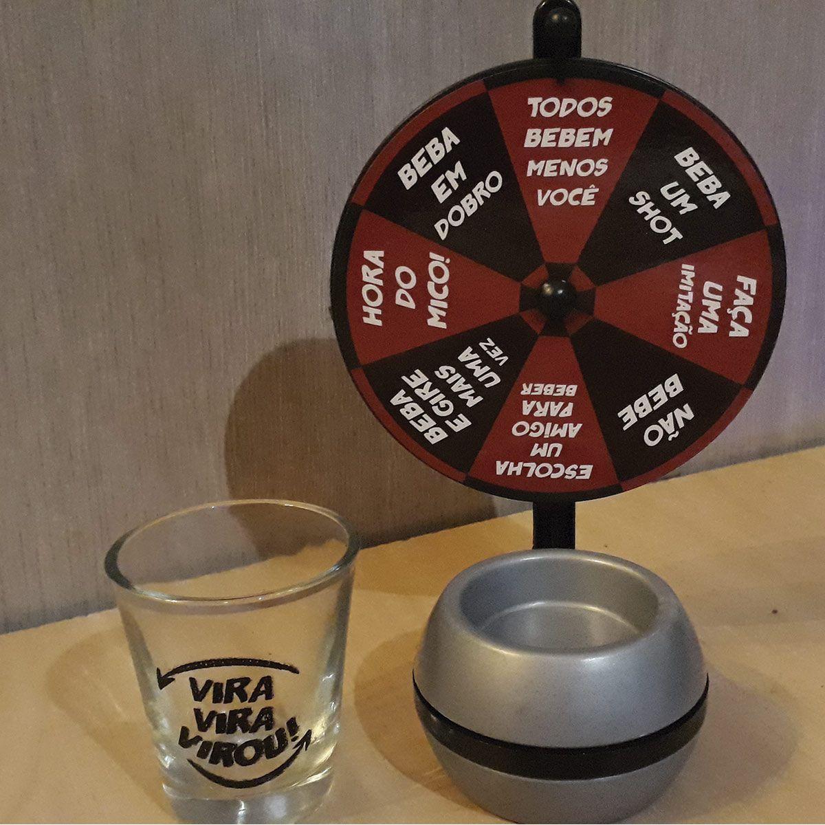 Jogo Roda de Shot Vira Virou Drink Games