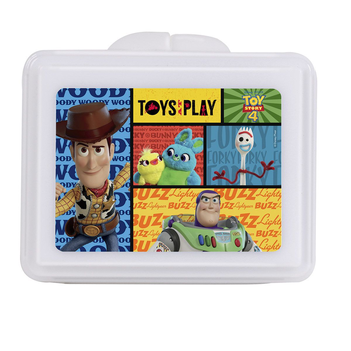 Kit Cantil + Porta-Lanches Toy Story Oficial Disney