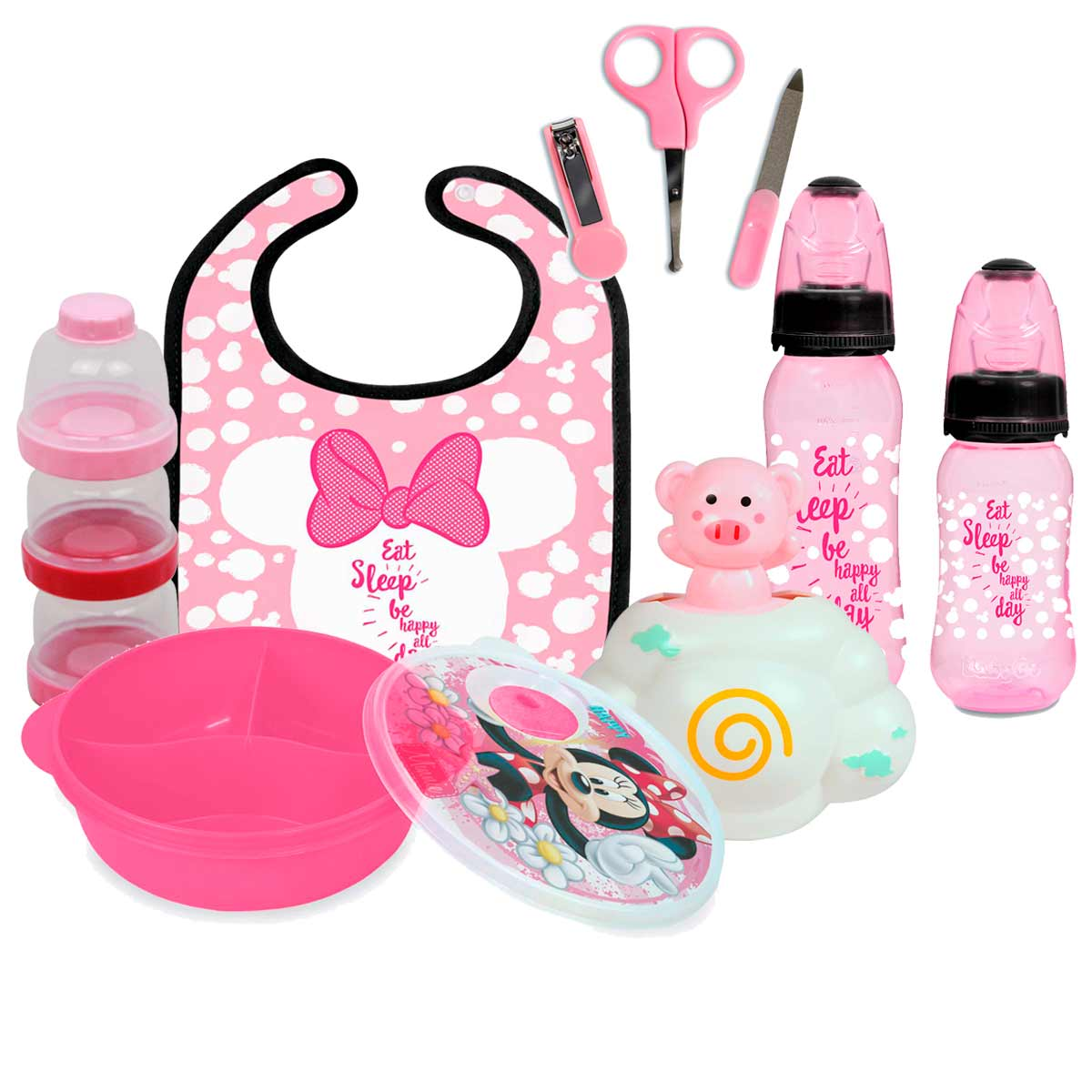 Kit Minnie Mouse Baby Completo