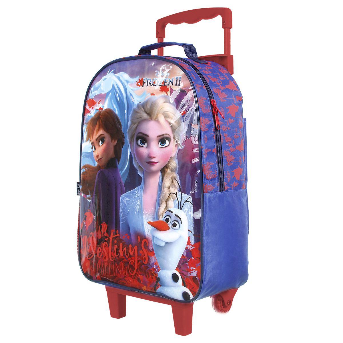 Kit Mochilete Escolar Frozen II My Destiny is Calling Disney + Estojo