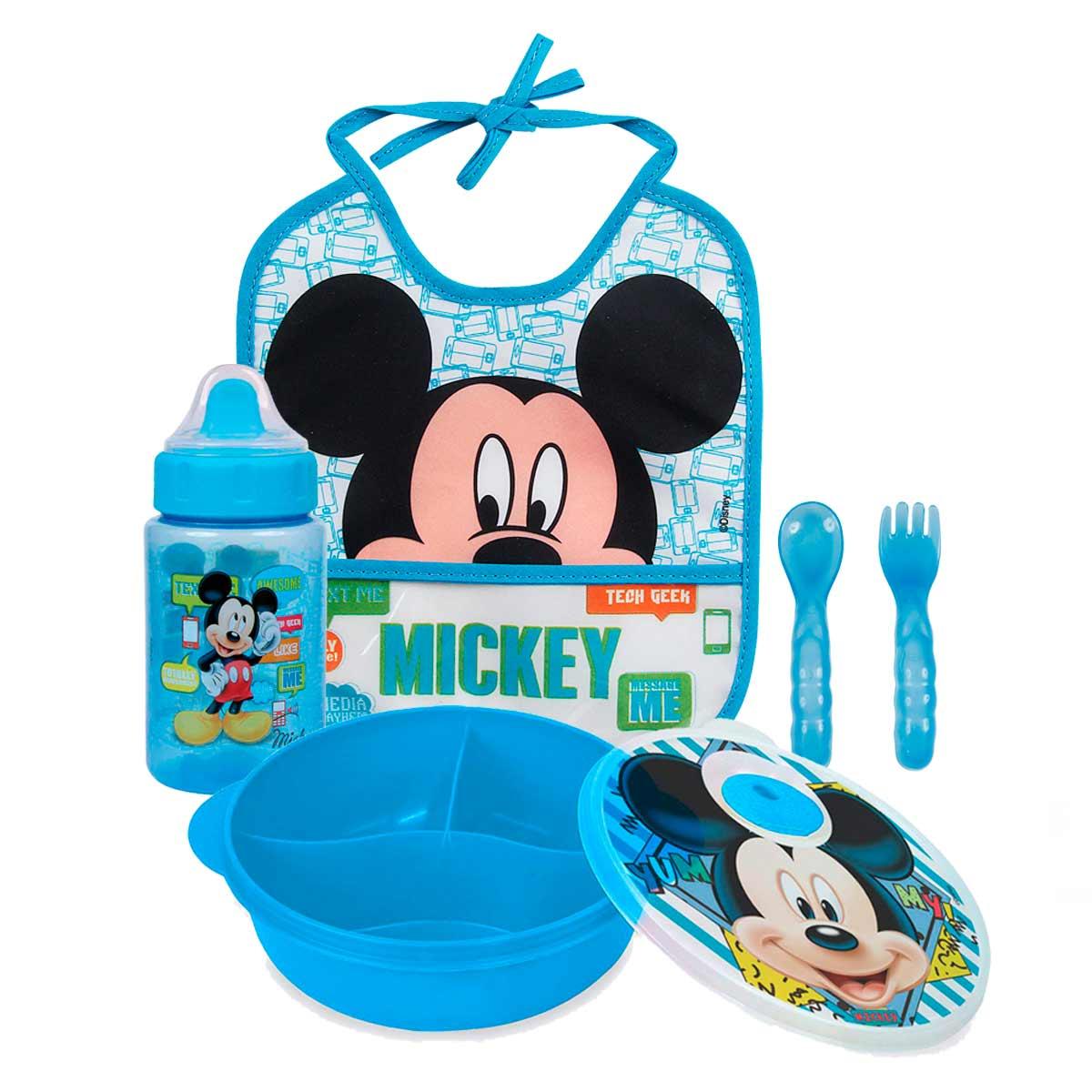 Kit Papinha Basic Mickey Mouse Disney