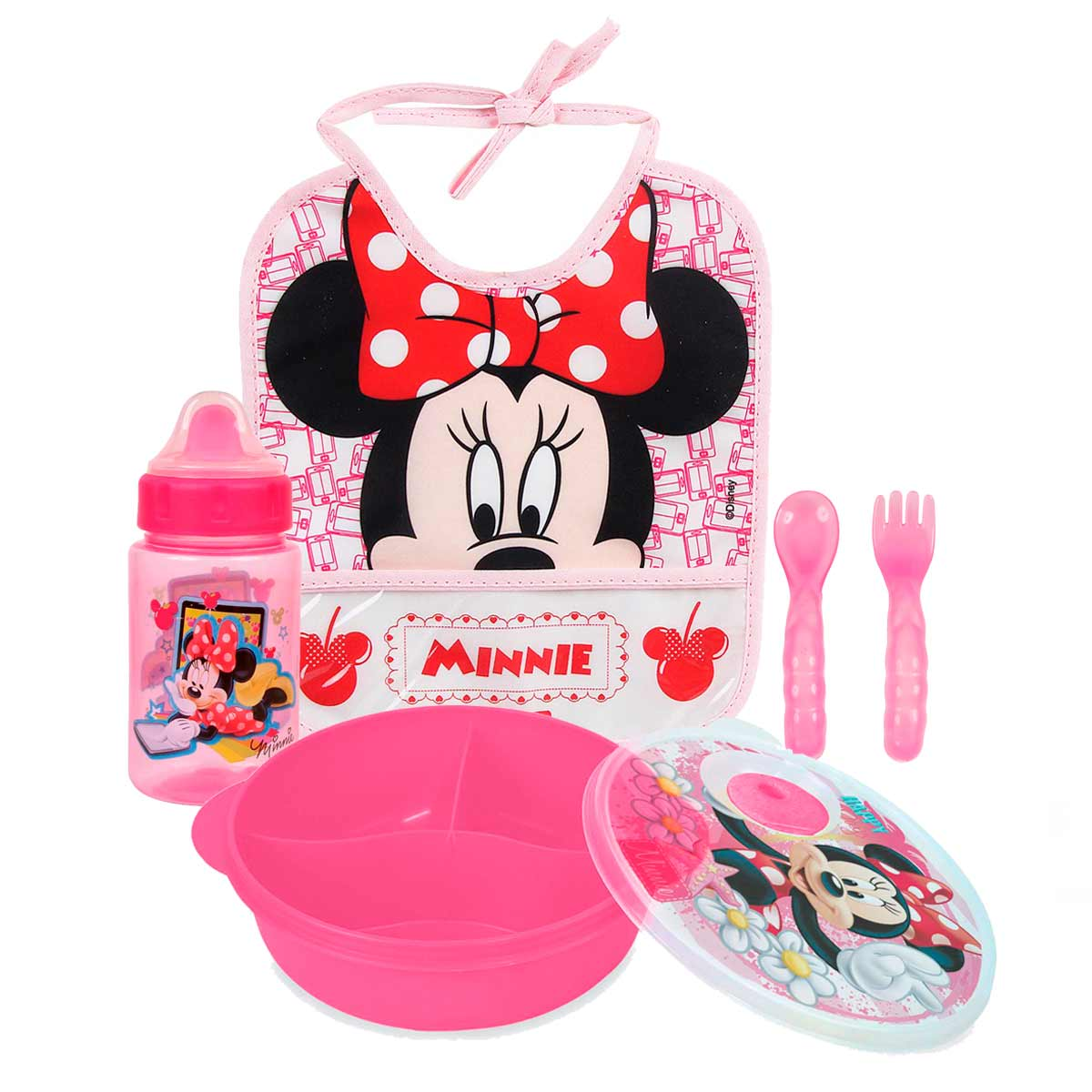 Kit Papinha Basic Minnie Mouse Disney