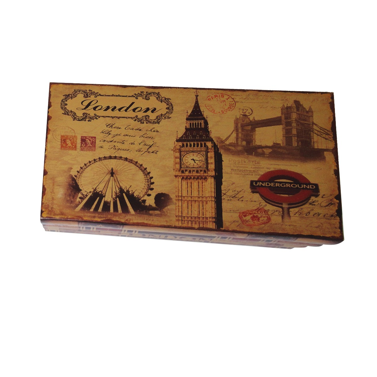 Kit Com 2 Caixas Organizadora mod. London & Paris II