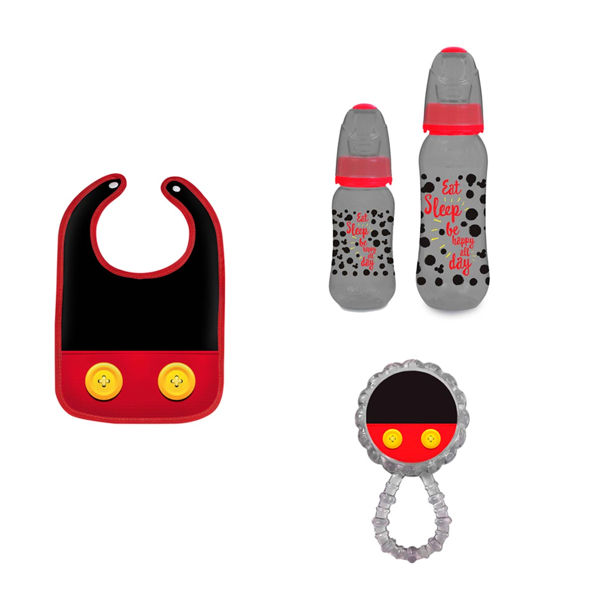 Kit Presente Maternidade Básico Mickey Mouse Disney