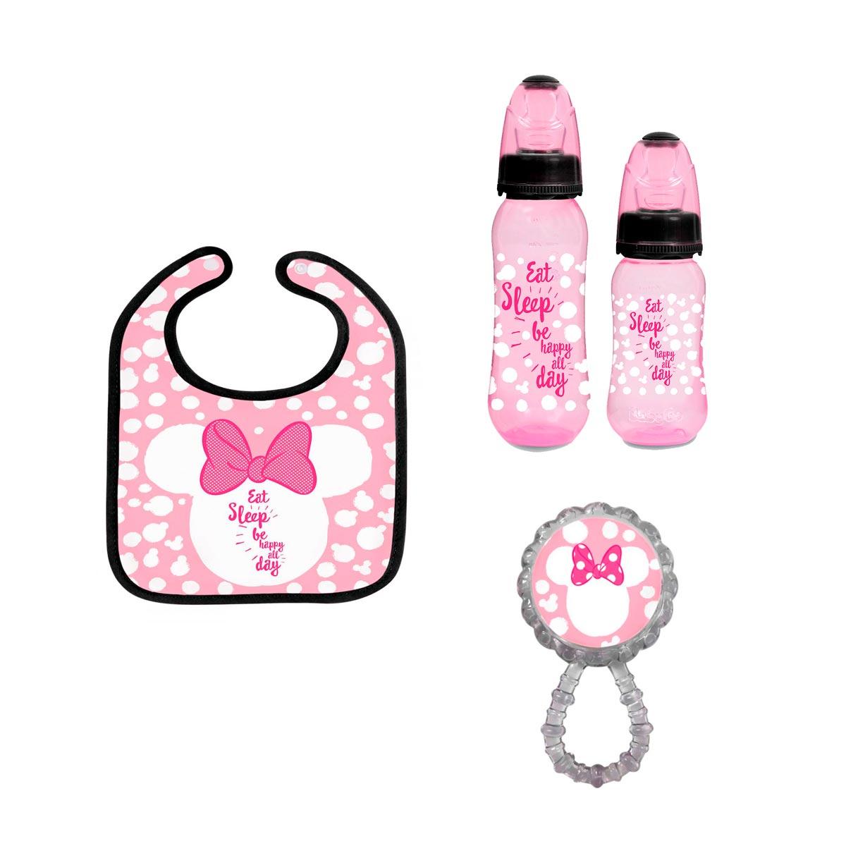 Kit Presente Maternidade Básico Minnie Mouse Disney
