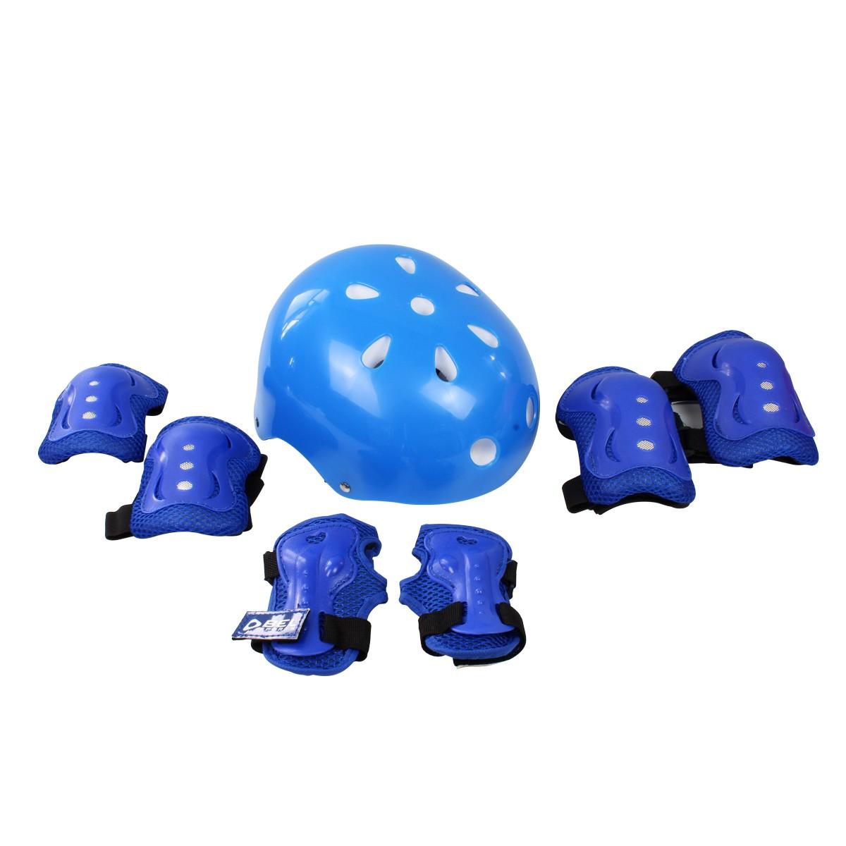 Kit Proteção Radical Azul C/ Capacete Tamanho M Belfix
