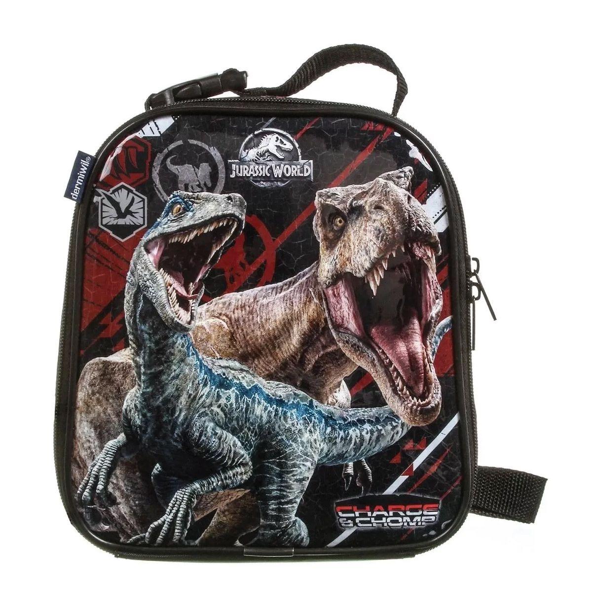 Lancheira Térmica Infantil Jurassic Wold Disney