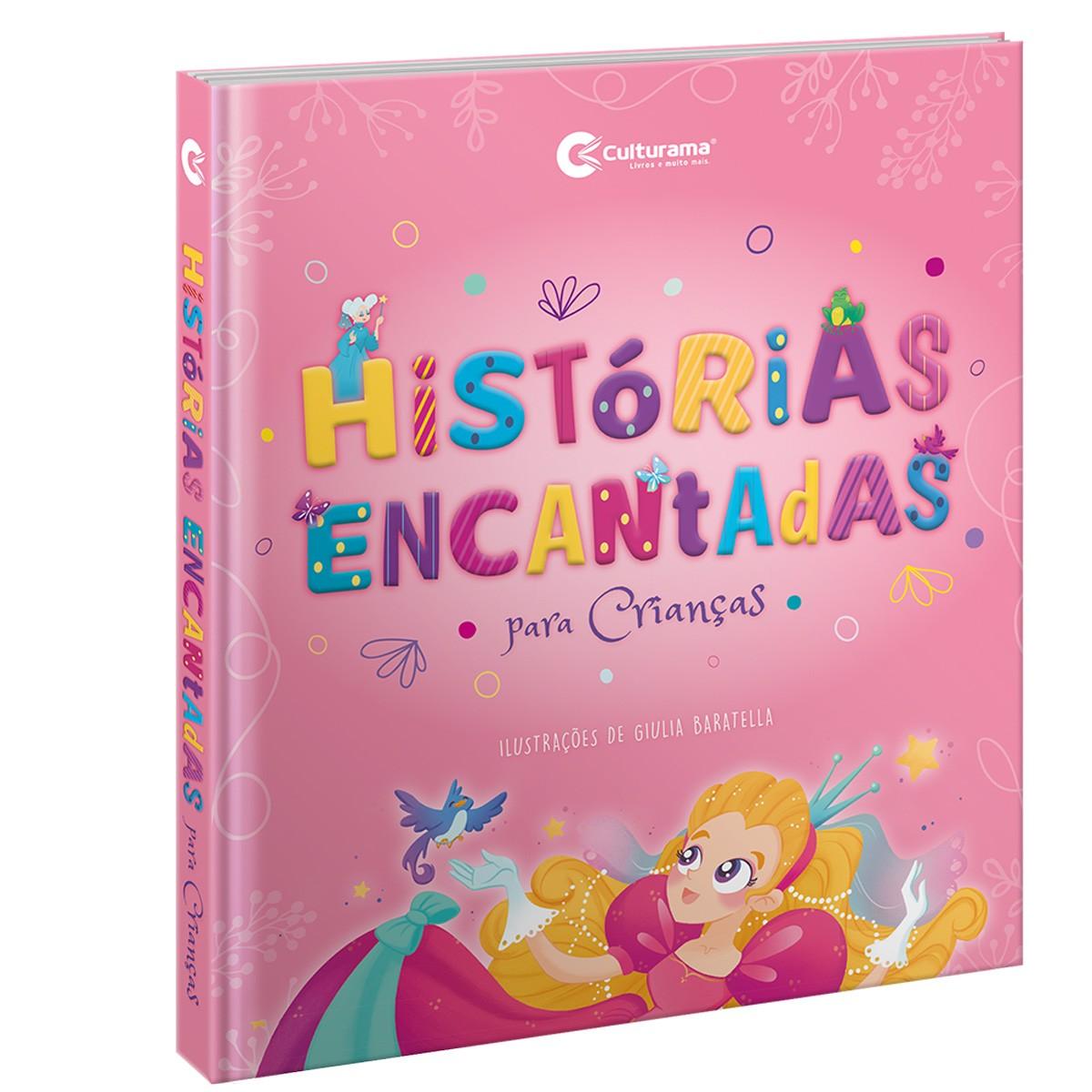 Livro Histórias Encantadas Para Crianças