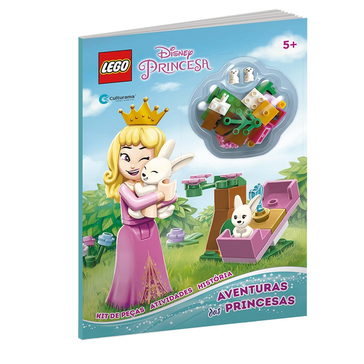 Livro Lego Disney Princesas Aventura Das Princesas