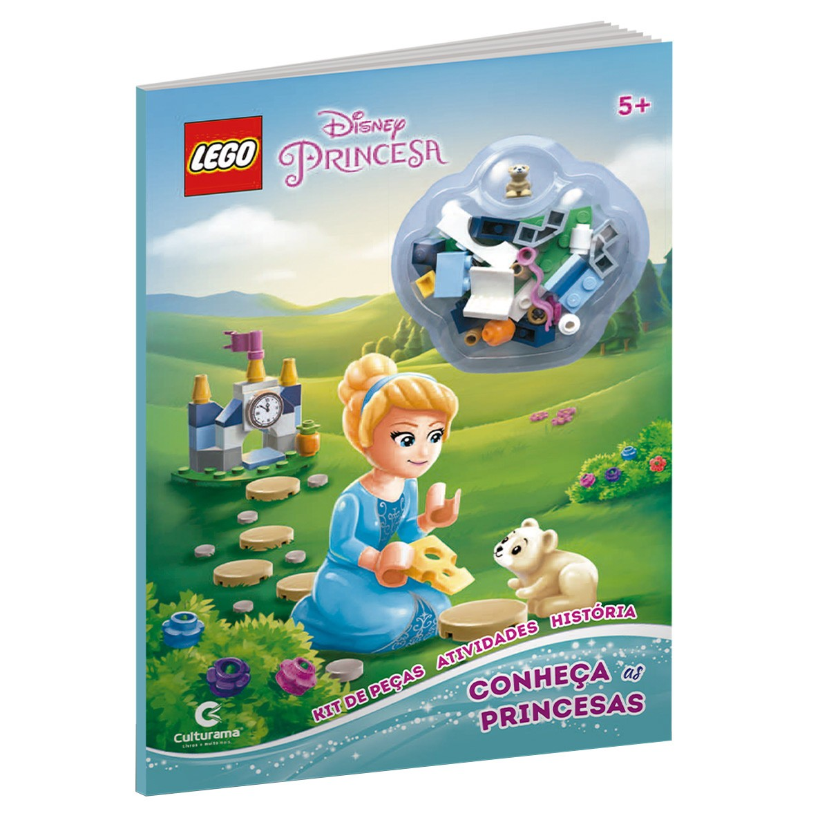 Livro Lego Disney Princesas Conheça As Princesas