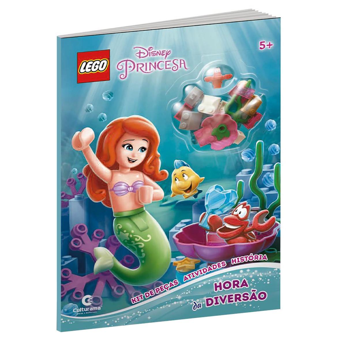 Livro Lego Disney Princesas Hora Da Diversão