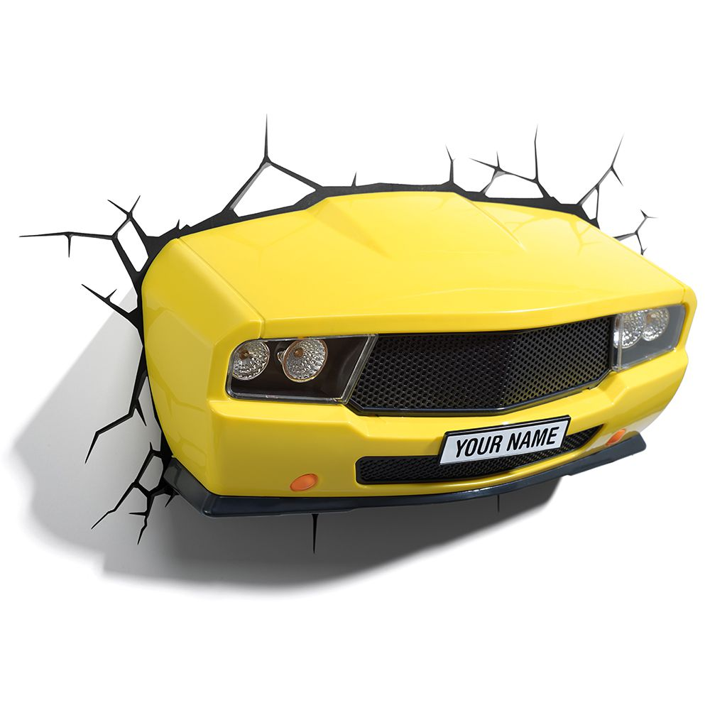 Luminária 3D Light FX MUSCLE Car