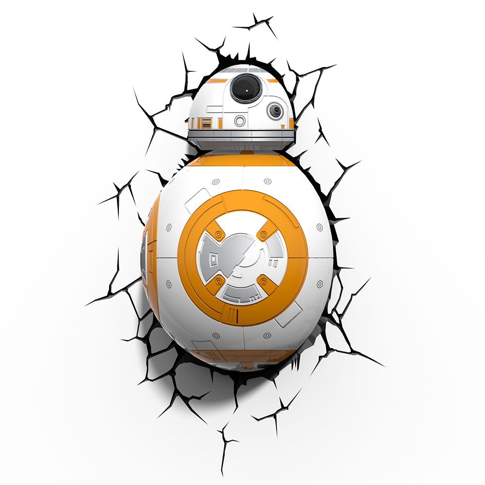 Luminária 3D Light FX Star Wars BB-8
