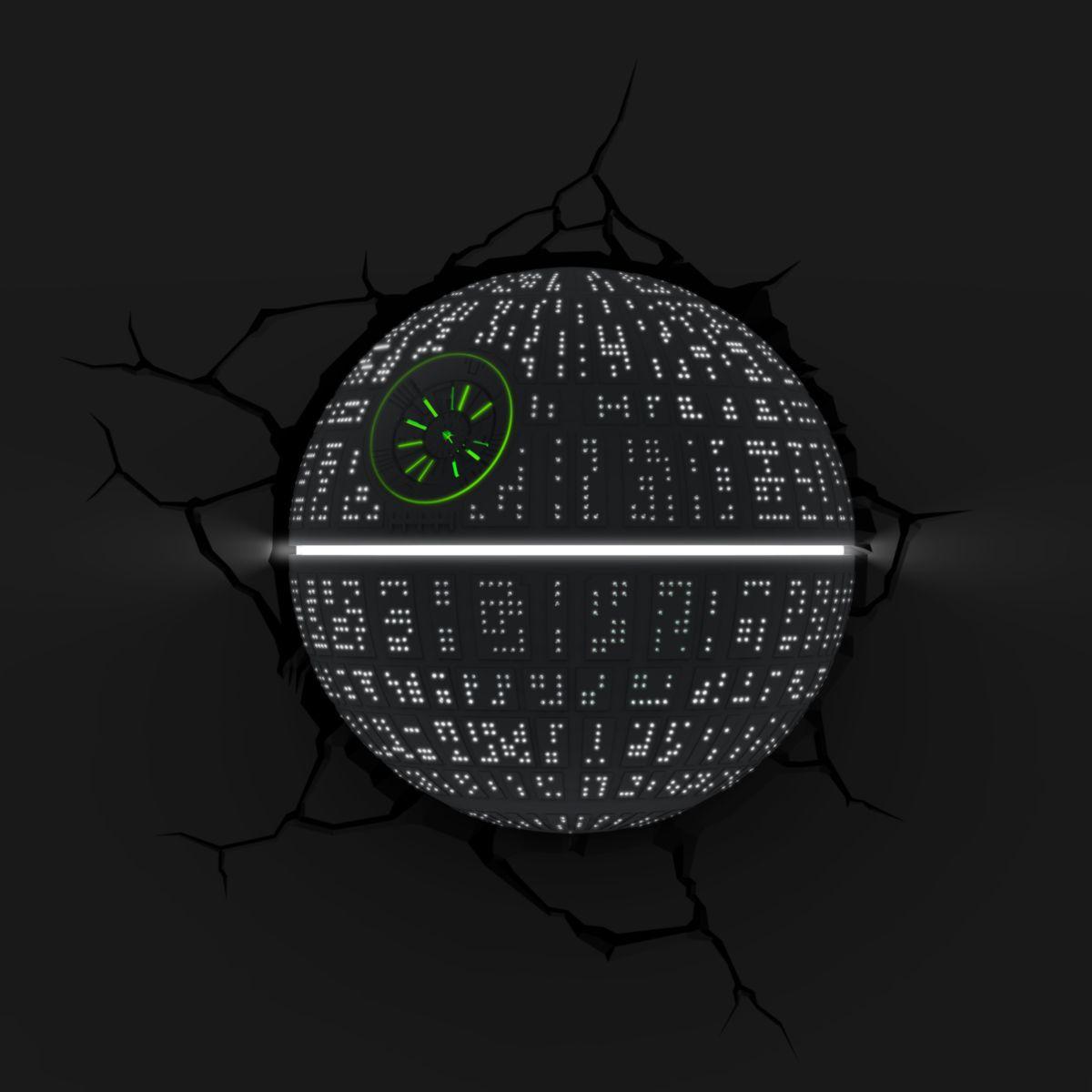 Luminária 3D Light FX Star Wars Estrela Da Morte