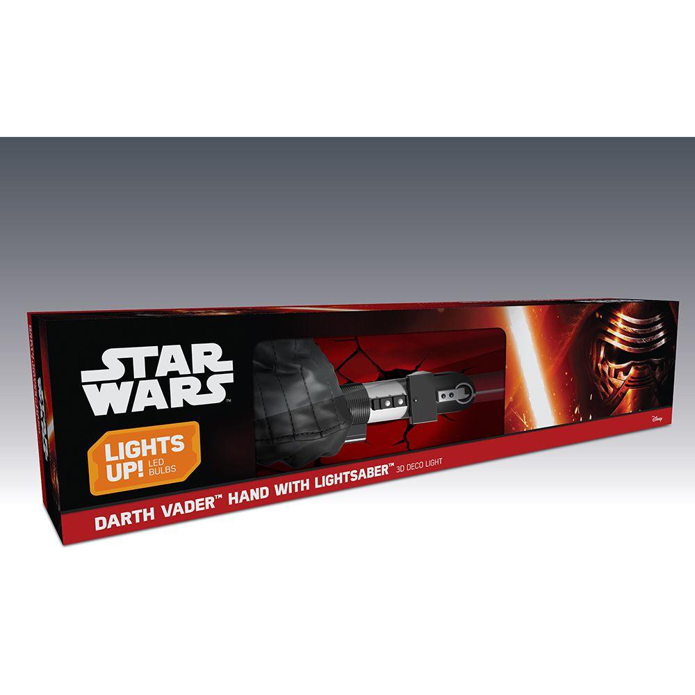 Luminária 3D Light FX Star Wars Sabre Darth Vader
