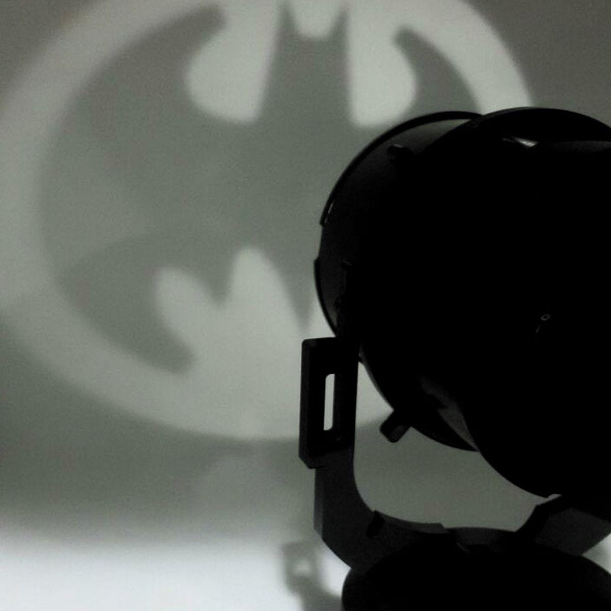 Luminária Batman Bat-Sinal Black