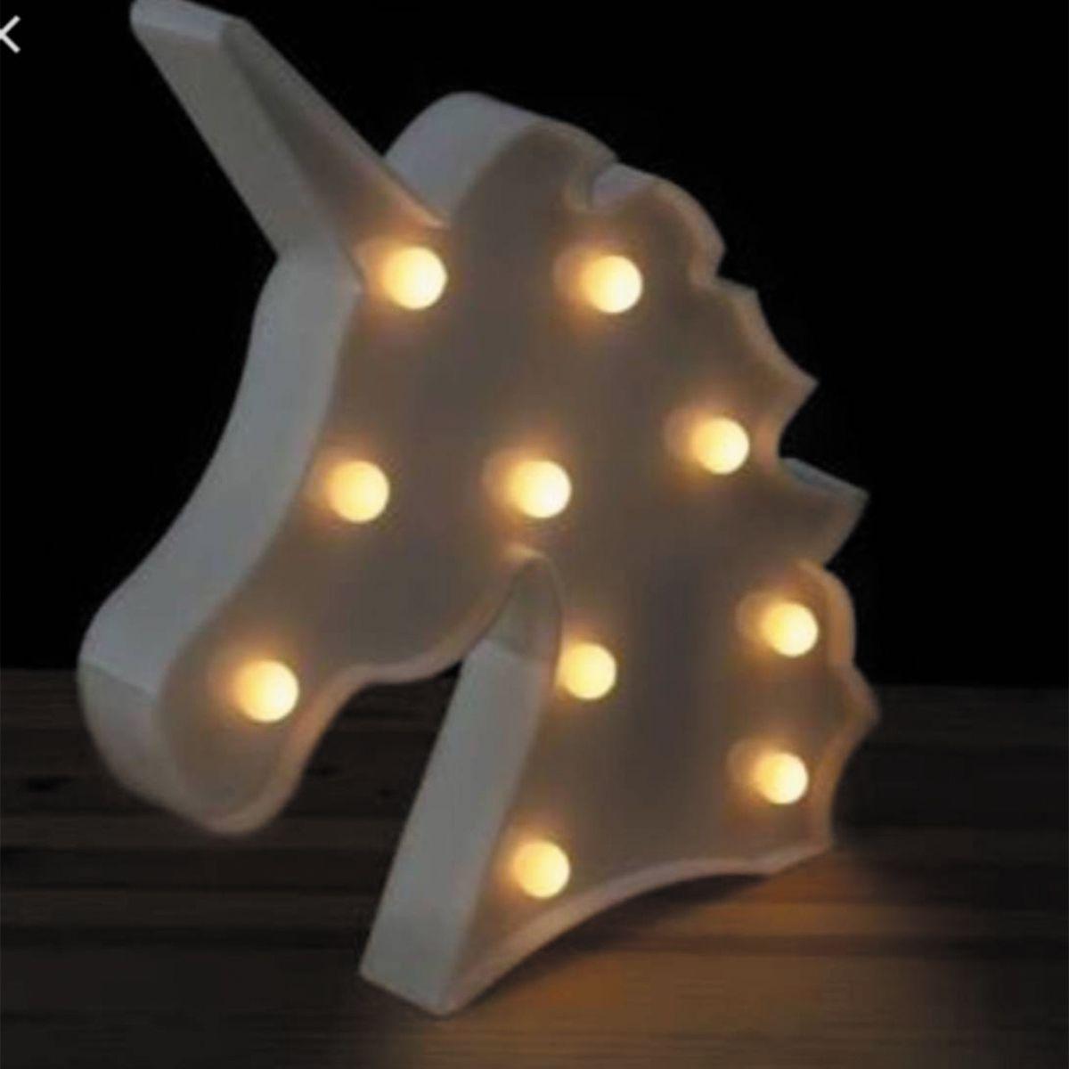 Luminária Led Unicórneo Branco