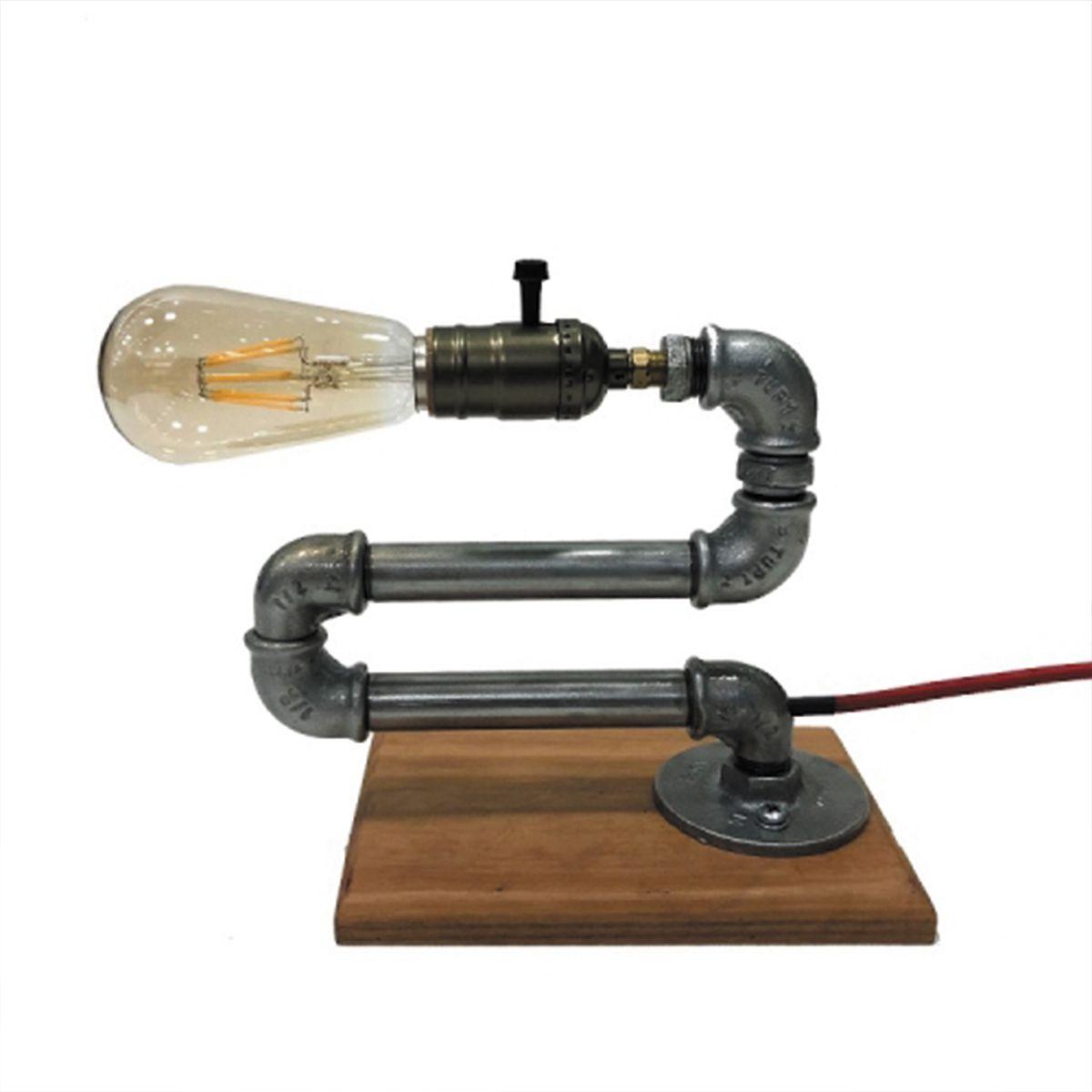 Luminária Pendente Design Exclusivo Cano Minhoca