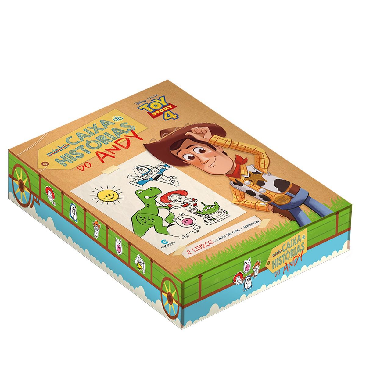 Minha Caixa De Histórias Toy Story 4