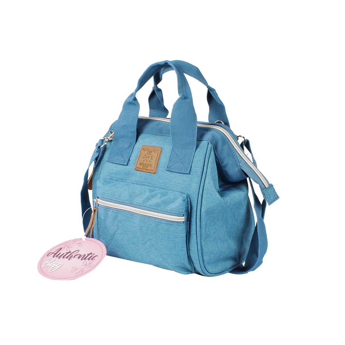 Mini Bolsa Mommy Bag MM3264 Azul Original Clio