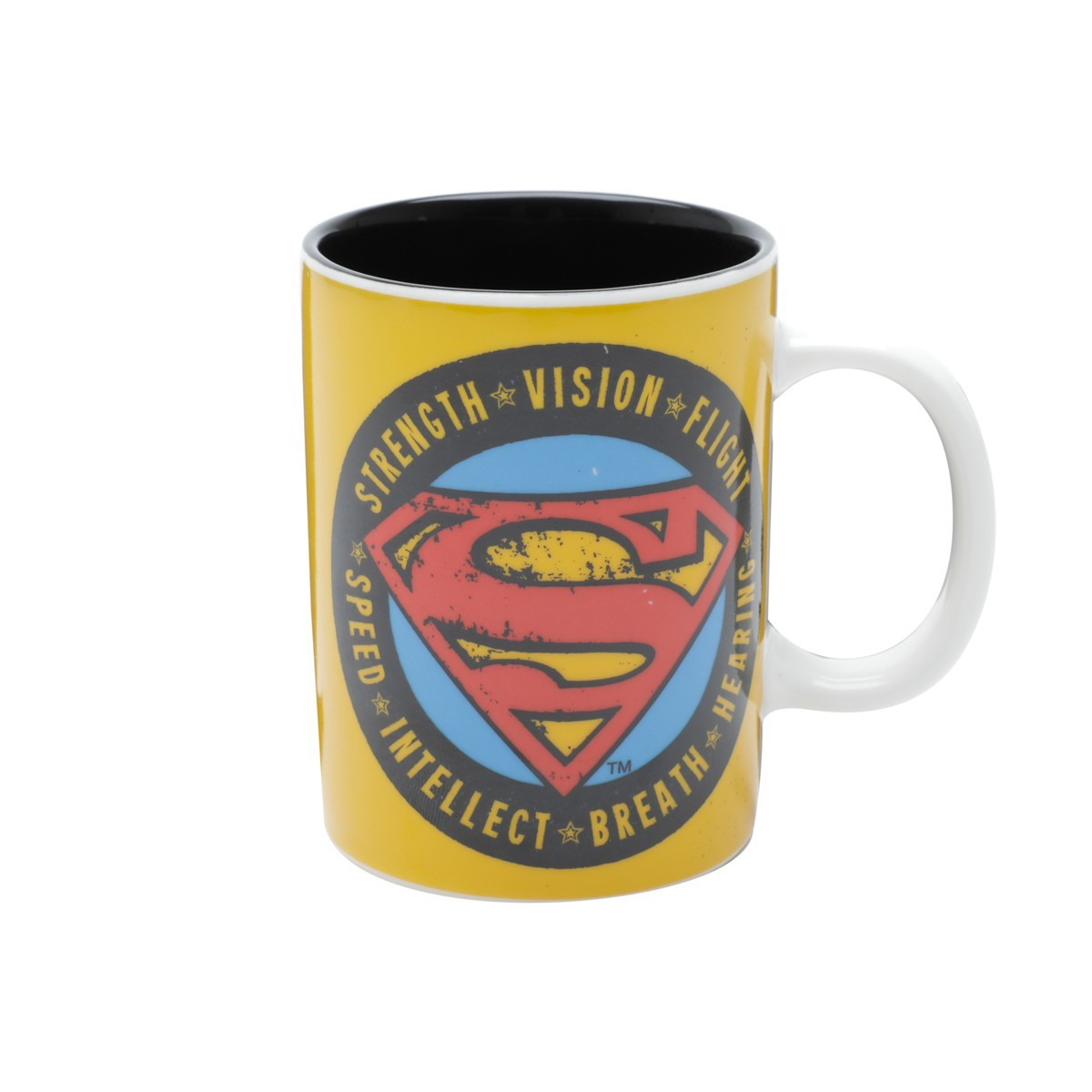 Mini Caneca De Porcelana Oficial Superman 135ml Urban
