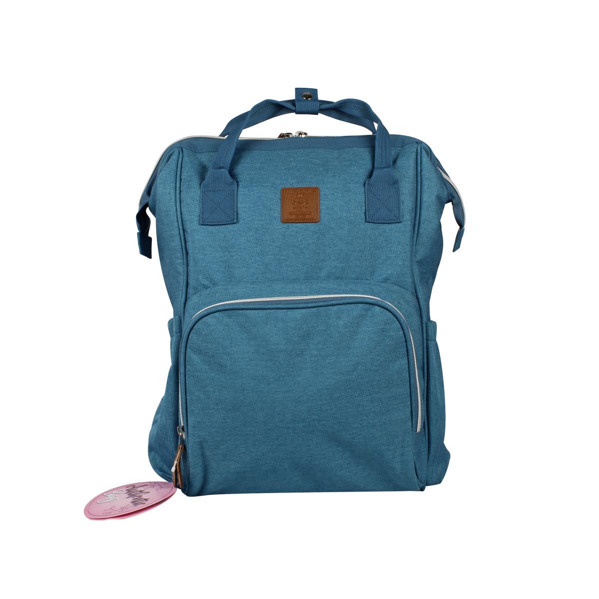 Mochila Maternidade Mommy Bag MM3263 Azul Original Clio