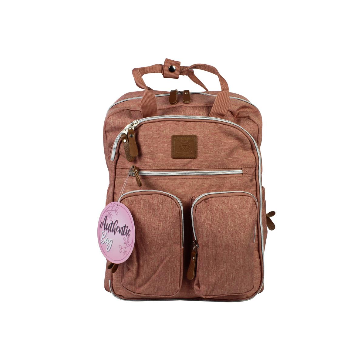 Mochila Maternidade Mommy Bag MM3302 Rosa Original Clio