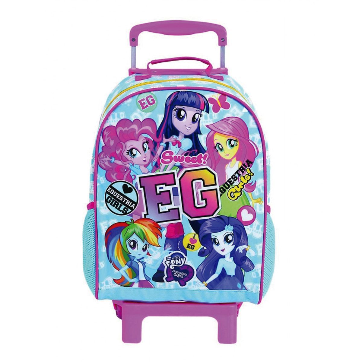 Mochilete c/ Rodinha My Little Pony Equestria Girls Oficial