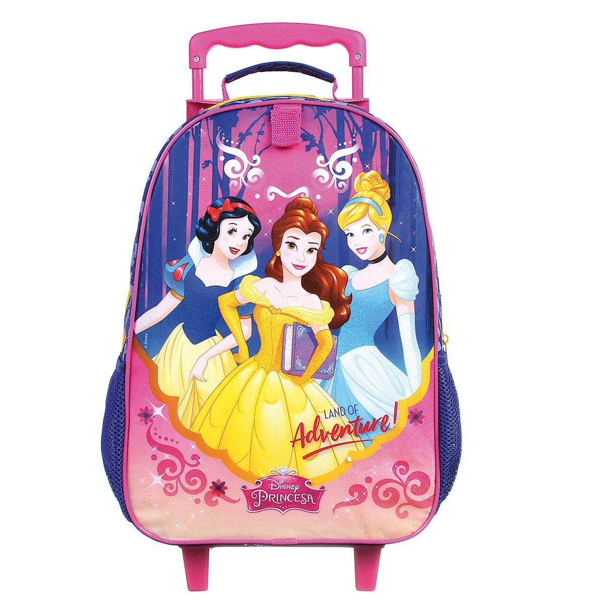 Mochilete Escolar Princesas - Land of Adventure - Disney