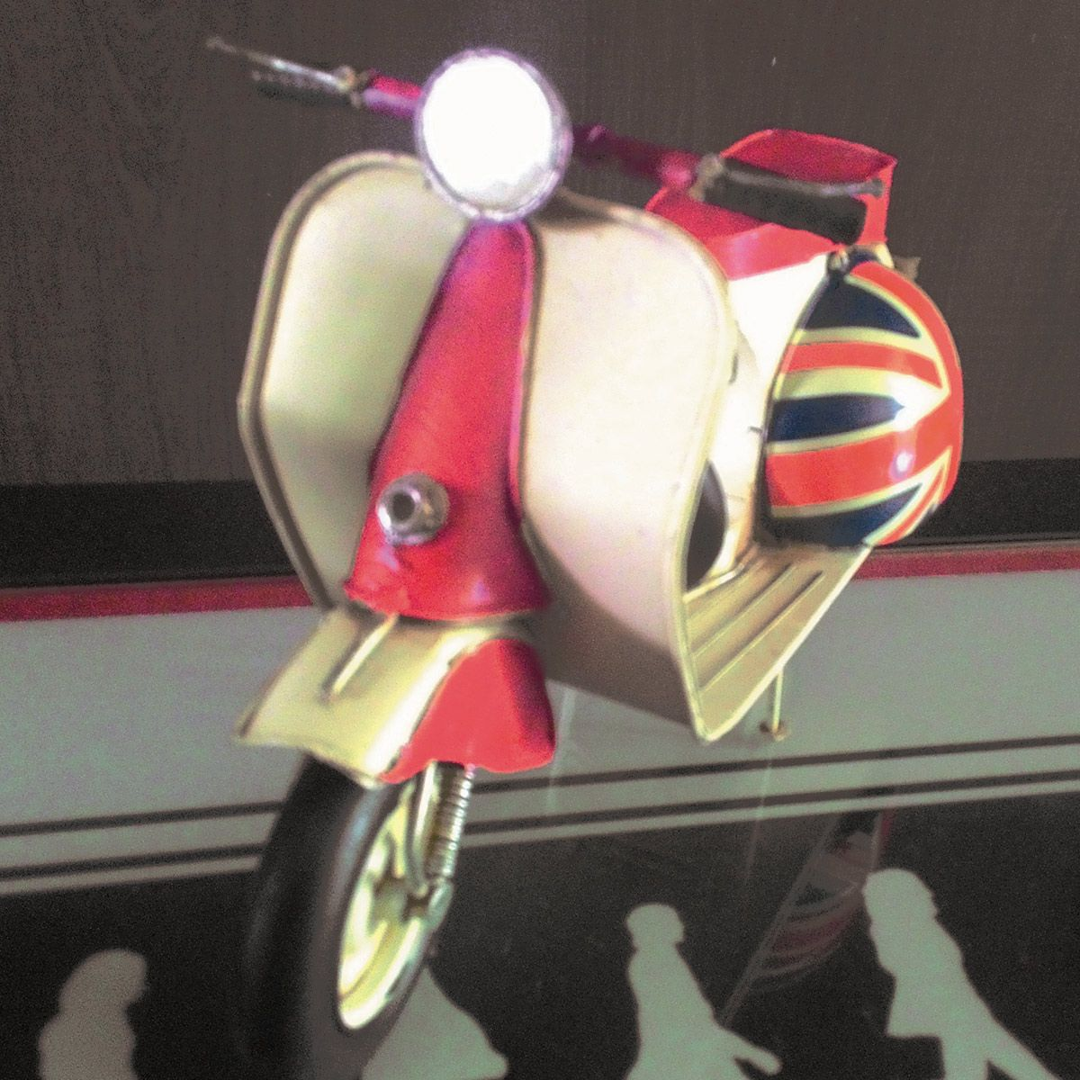 Moto Vintage Retrô Réplica Vespa Londres