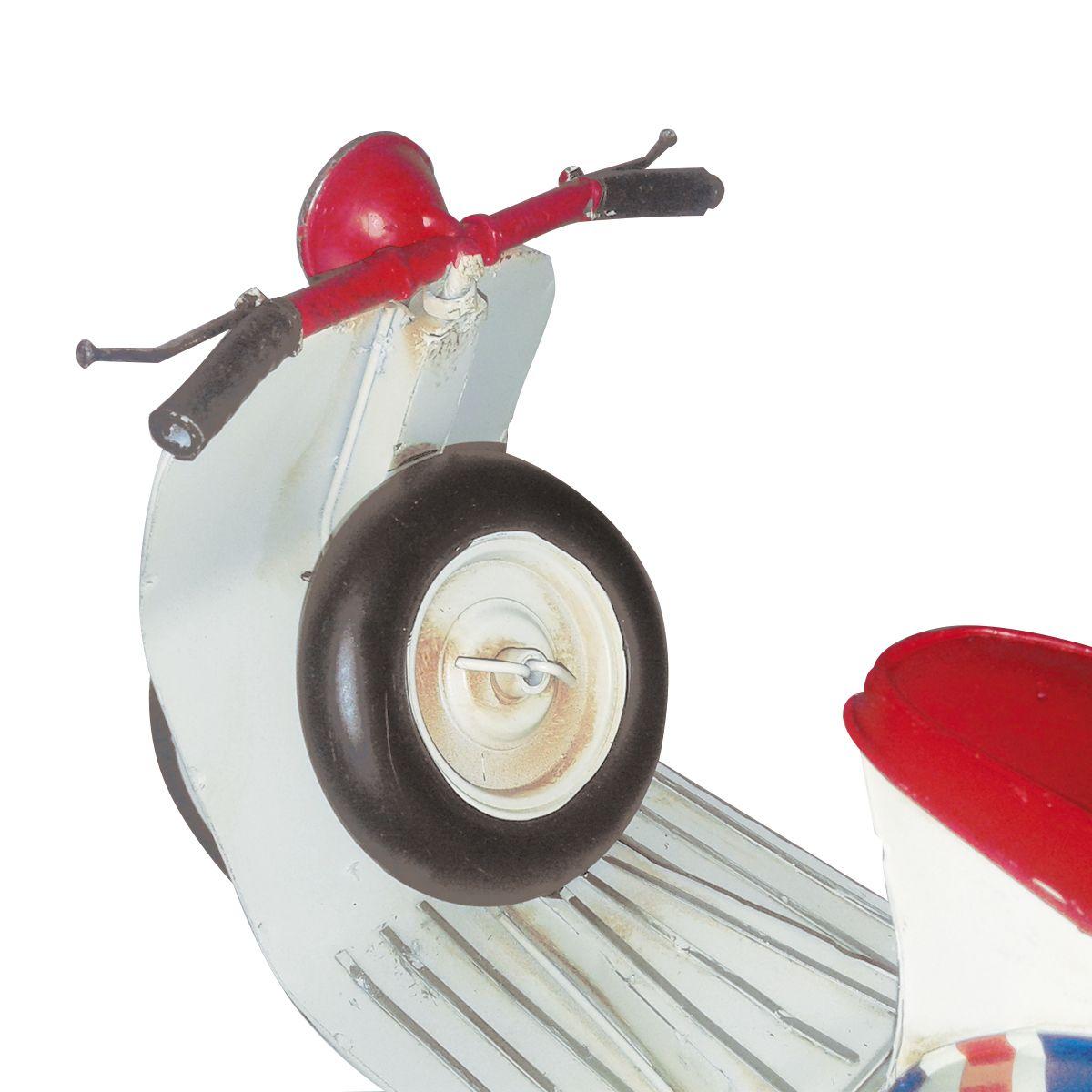 Colecionável Moto Vintage Retrô Réplica Vespa Londres