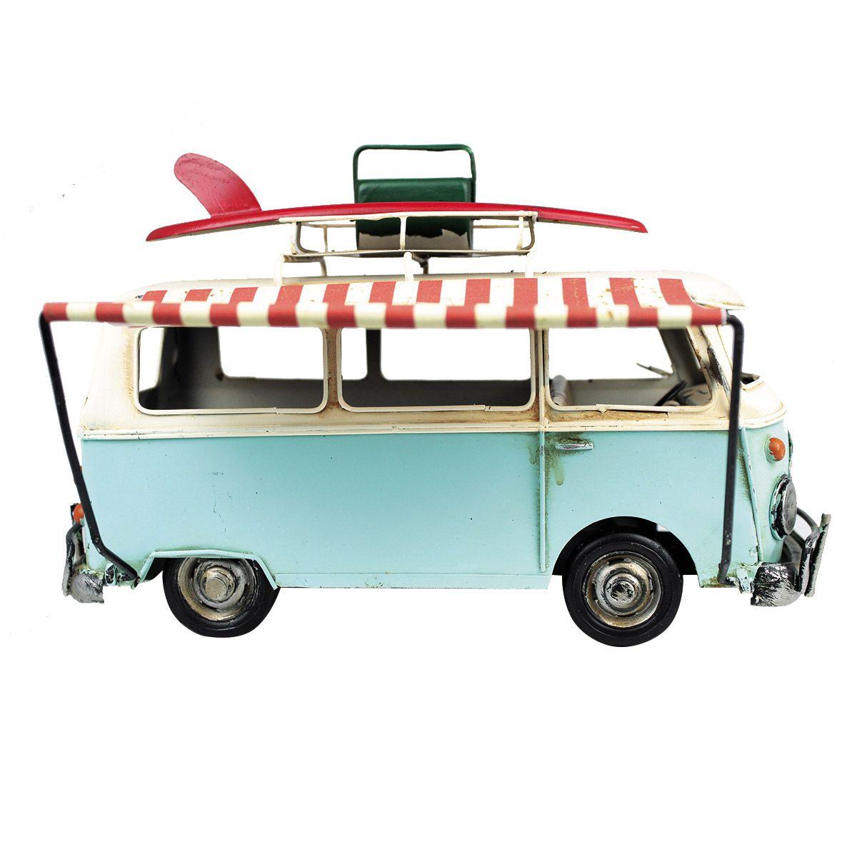 Perua Kombi de Metal mod. Food Truck Retrô