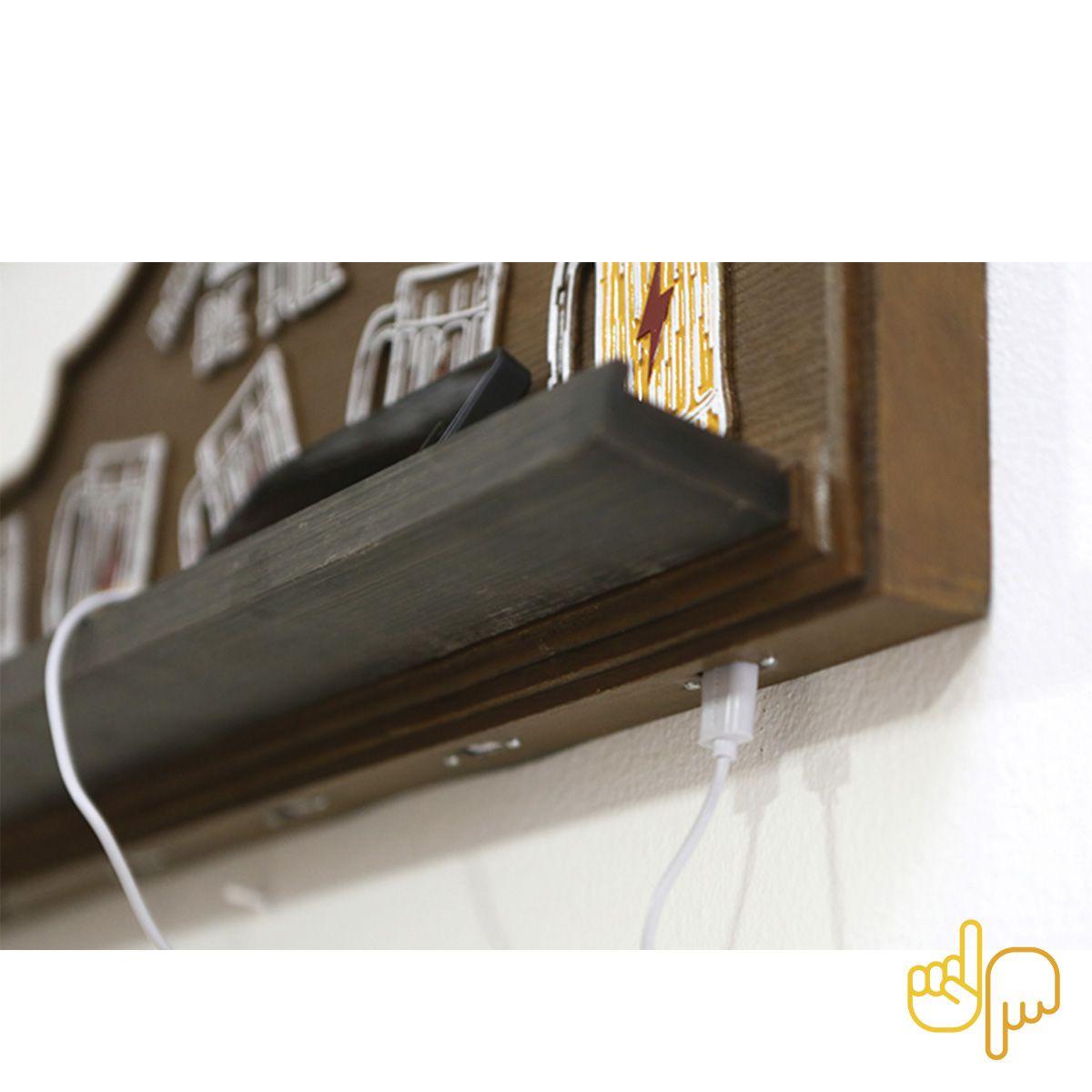 Placa Chopp Beers Carregador de Celular USB Full