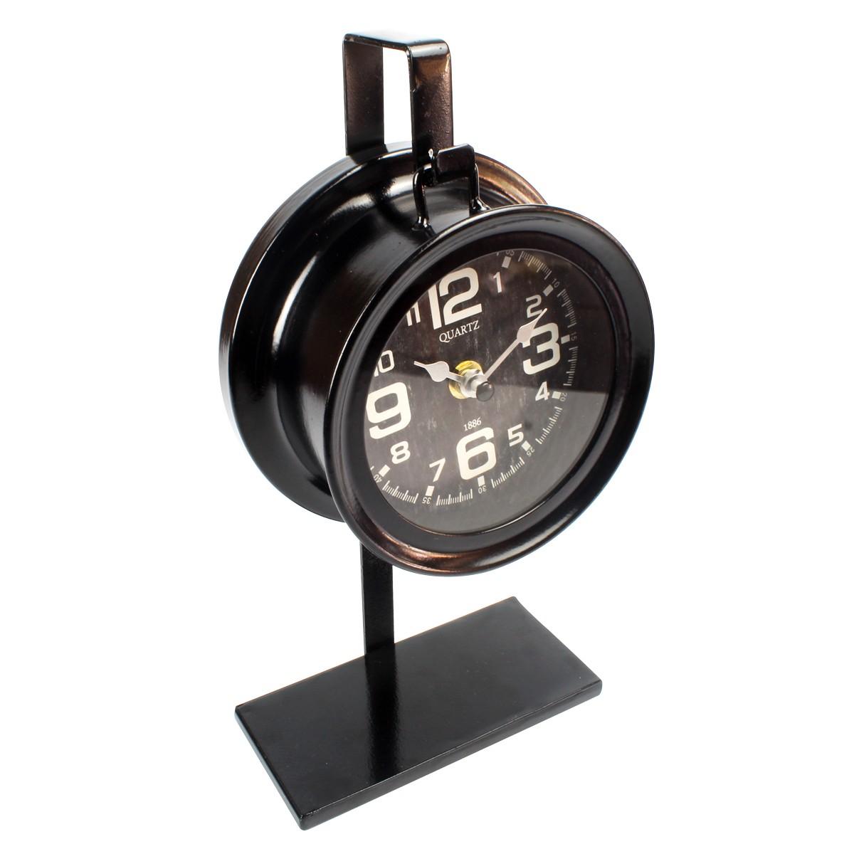 Relógio De Mesa Clássico em Metal 1886