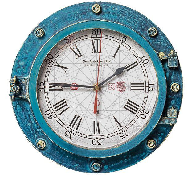 Relógio de Parede Linha Náutica Mod. New Gate Glock Co. London