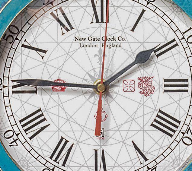 Relógio de Parede Linha Náutica Mod. New Gate Clock Co. London