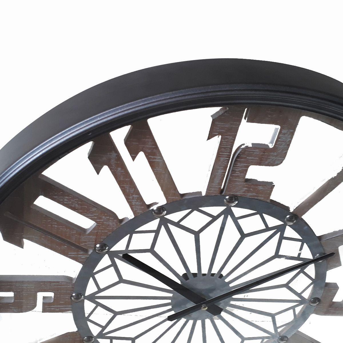Relógio de Parede Vazado Mod: Mosaico 60 cm