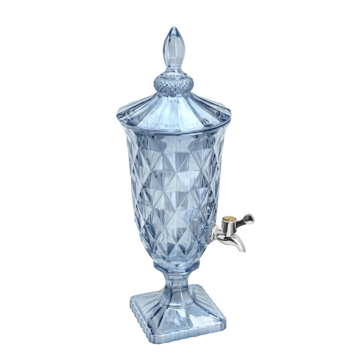 Suqueira De Cristal Ecológico Diamond Azul 2l Lyor